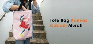 tote bag kanvas custom murah